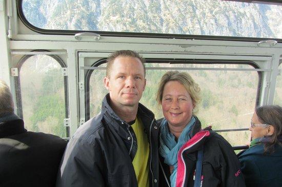 Untersberg : In de gondel