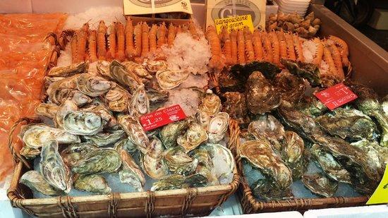 Hotel Okura Amsterdam: Fresh seafood