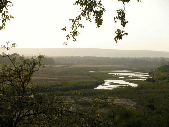 Letaba Rest Camp: This is the view from the lookout.