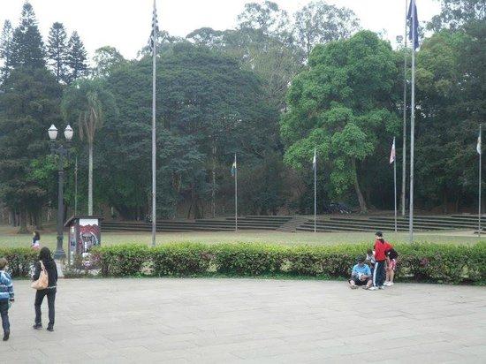 Museu Paulista (Museu du Ipiranga) : Jardins do museu