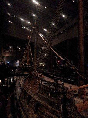 Musée Vasa : le navire