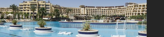 Steigenberger ALDAU Beach Hotel: Hotel panorama