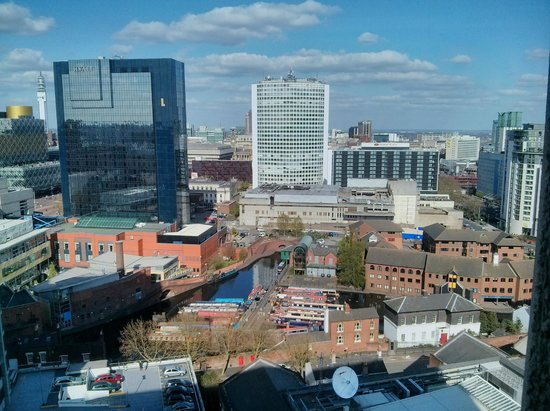 Jurys Inn Birmingham : View from room
