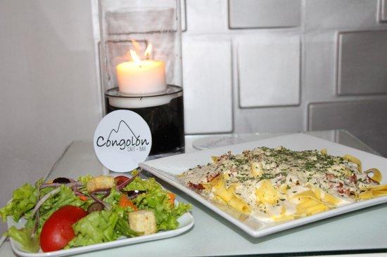 Hotel Real Camino Lenca: especialidad en pastas!