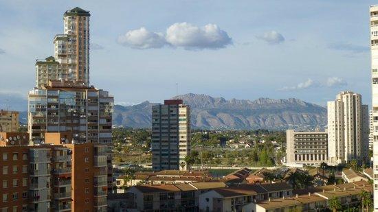 Flash Hotel Benidorm: Morning view