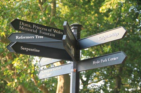 Hyde Park Sign