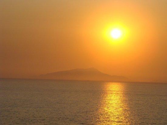 Panorama Palace Hotel: Vista do por do sol