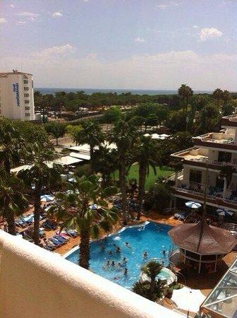 Hotel Indalo Park: Вид из номера, 4 этаж