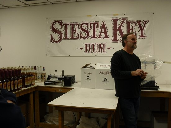 Siesta Key Rum: Tour Guide