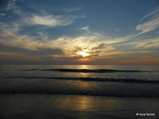 Agonda Beach: Sunset in Agonda