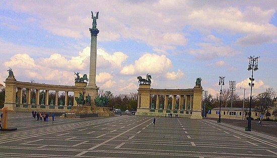 Place des Héros : Budapest - Heldenplatz
