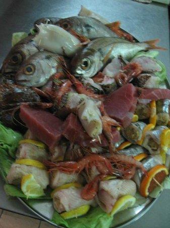 L'Ossidiana Ristorante: Pescato del giorno 6
