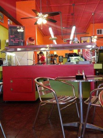 The Corner Shop Cafe : Salad bar