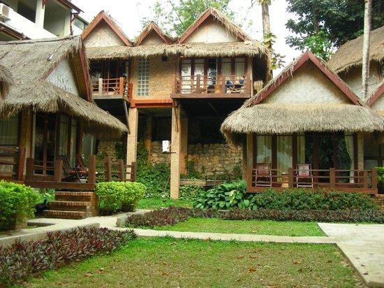 Ban Sabai Riverside Bungalow: Meglio i bungalow in alto