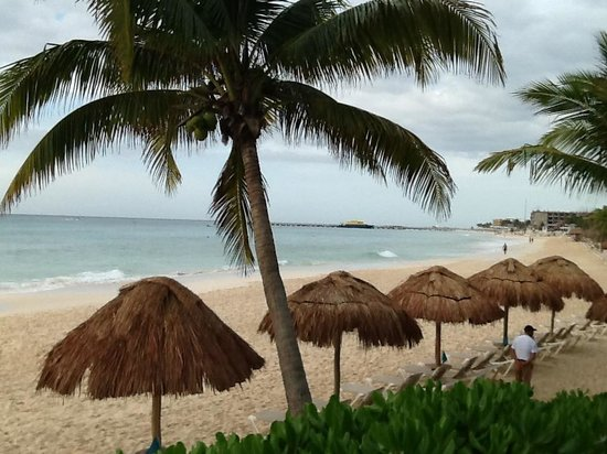 Mahekal Beach Resort: a praia