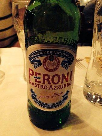 Chez Bartolo: Bière italienne très bonne.