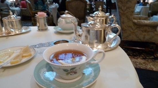 The Savoy : Earl Grey - of course !