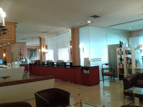 Hotel Arosa : вход в залл для завтрака