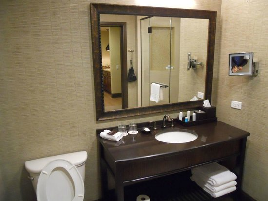Omni Austin Hotel Downtown : Bathroom in Suite