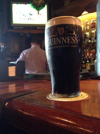 Jackie's Bar Resturant: Lovely Guinness