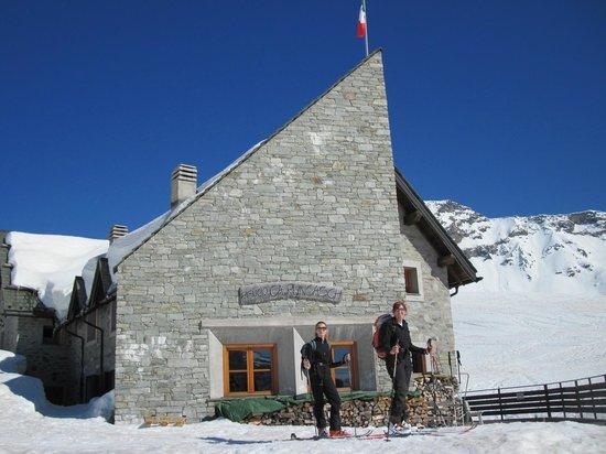 Rifugio Ca Runcasch: sci alpinismo dal rifugio