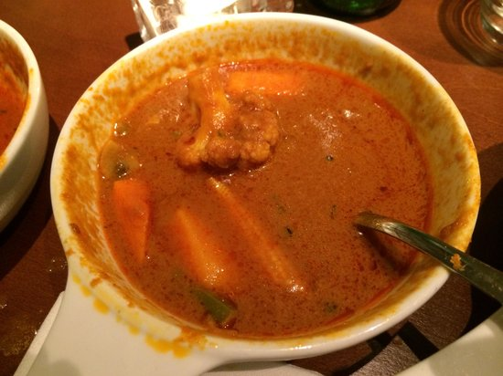 Masala Zone Islington: Mix veg horrible curry