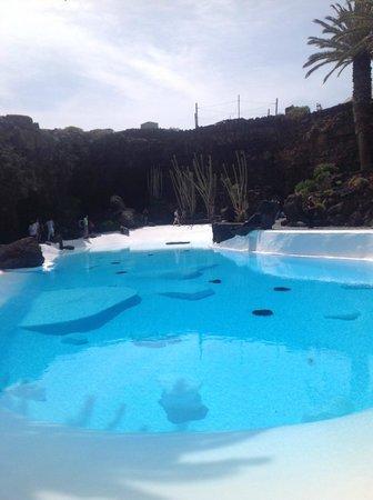 Jameos Del Agua: No swimming