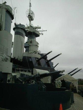 Battleship NORTH CAROLINA: Battleship NC