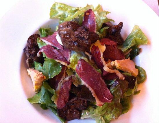 La Pinte: Salade landaise....