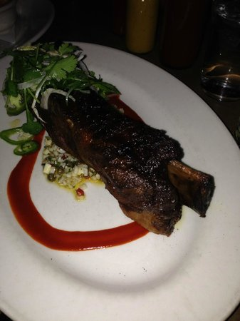 Wild boar rib appetizer - Picture of Lamberts Downtown ...