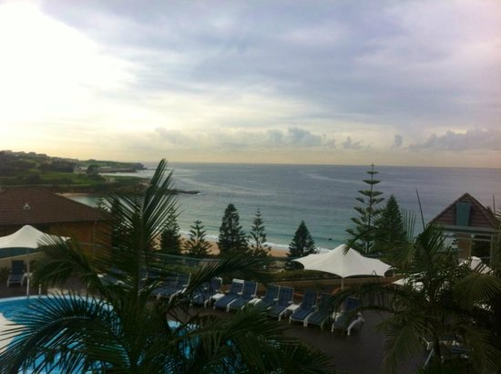 Crowne Plaza Hotel Coogee Beach - Sydney: View from our balcony