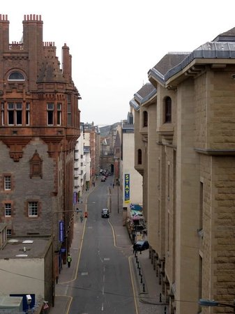 Stay Central Hotel: View from the George IV bridge