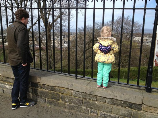 Hilly Cow Wigwams: A visit to Edinburgh Castle