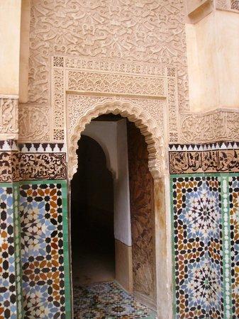 Ali Ben Youssef Medersa (Madrasa) : superbe architecture