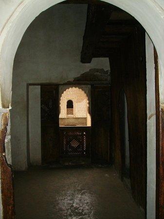 Ali Ben Youssef Medersa (Madrasa) : une ancienne petite chambre d'écolier