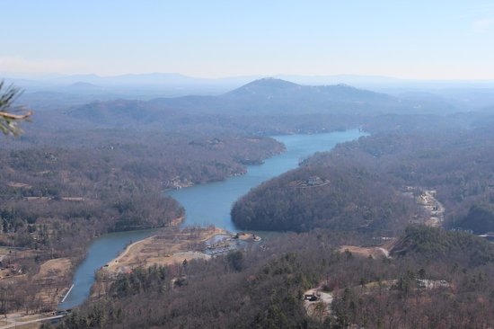 Chimney Rock State Park: View from the rock