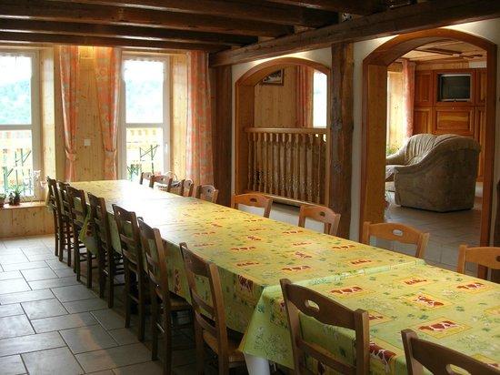 Chez Chantal et Dany : Salle à manger