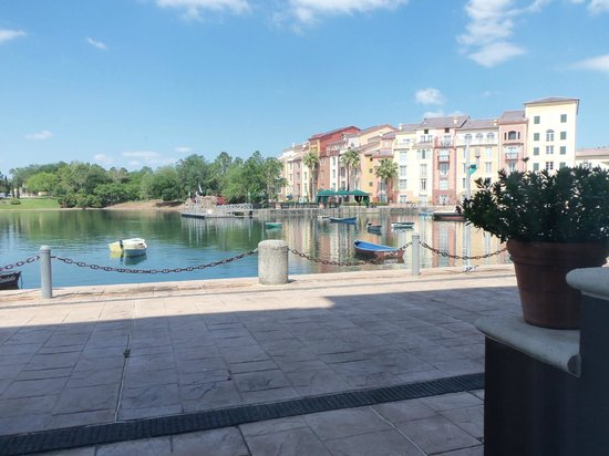 Loews Portofino Bay Hotel at Universal Orlando : patio