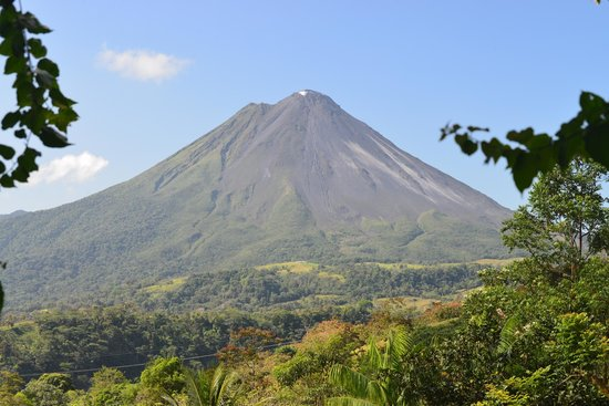 The Springs Resort and Spa: A clear view of Arenal