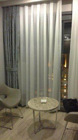 Taximist Hotel: cortinados