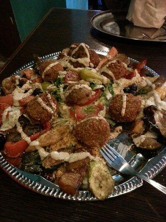 Meyman : 2 person Vegan platter
