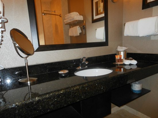 Best Western Premier Miami International Airport Hotel & Suites: Lovely large mirror and skin unit
