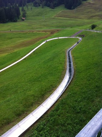 Sattel, Szwajcaria: زحليقة صيفية