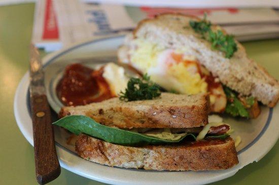 Cafe Primo e Secundo : Delicious sandwich