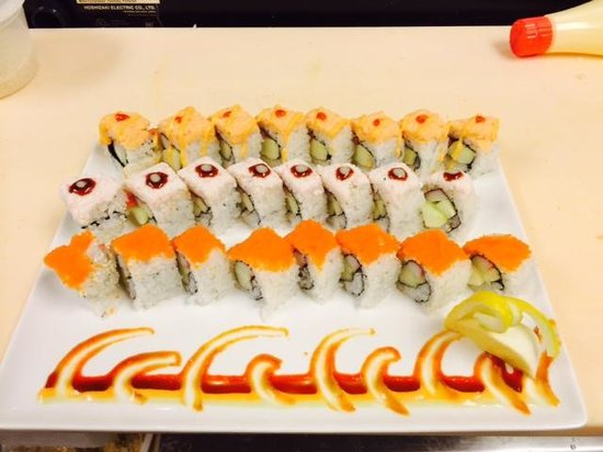 Hibachi Buffet and Sushi Bar: Special Rolls