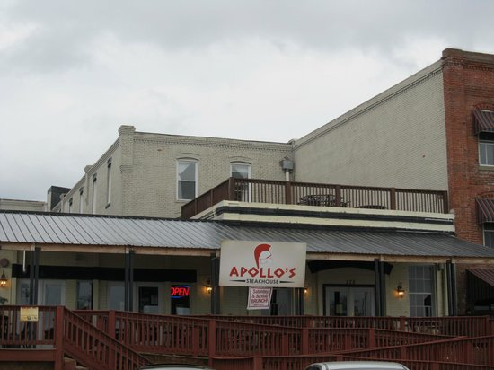Apollo's Steakhouse: View from rear by the waterfront