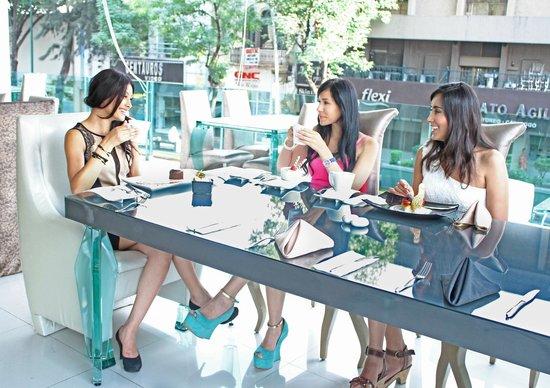 Hotel Vista Hermosa: Disfrutar de nuestro restaurante con las amistades
