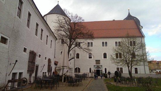 Schloss Wurzen: Castle entrance