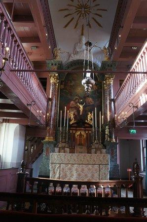 Museo Amstelkring (Iglesia de Nuestro Señor en el Ático): Вот такая церковь на чердаке