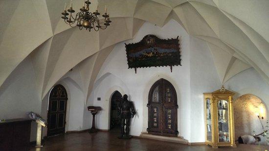 Schloss Wurzen: Entrance hall